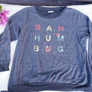 Ba hum bug Christmas holiday sweater (p7)